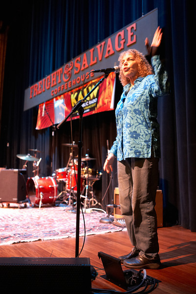KALW 70th anniversary show at the Freight & Salvage, Berkeley