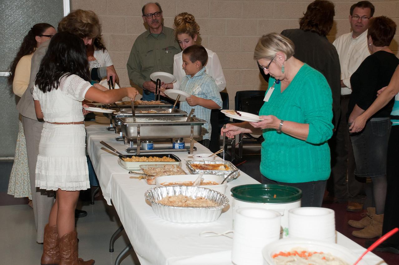 Patriot photos by Scott Weldon KASD Thanksgiving Community Potluck Dinner on Nov. 21.