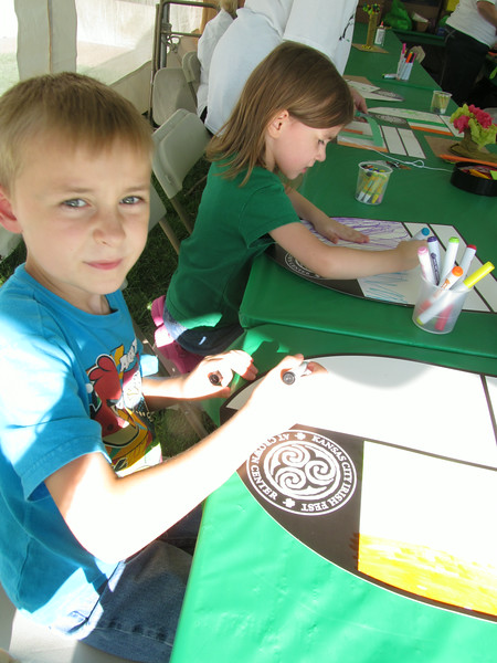 Always head for the craft area first at Irish Fest (Fri Aug 29)