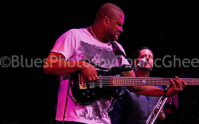 Carlton Armstrong & trumpet player Ana Popovic band