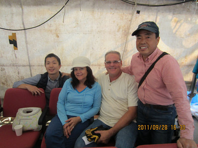 Doug and Elizabeth with New Japanese Friends (RBC)