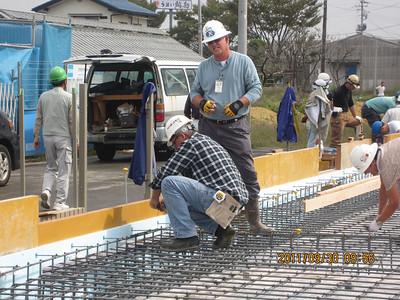 Doug and Jim Prep for Concrete Pour [Foundation]