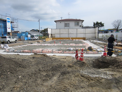 Footings/Foundation for the KH