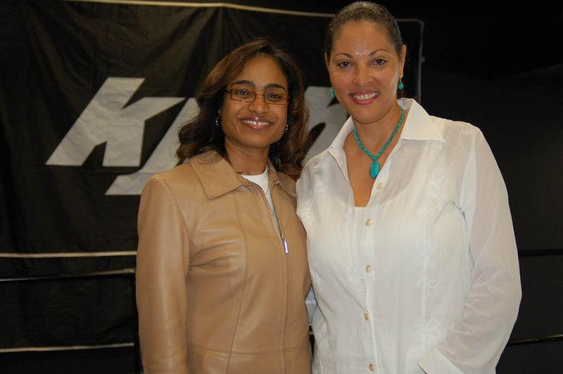 KJLH personality Janine Hydel and Dr. Eve.  DSC_0026 Photo by Isidra Person-Lynn Photo by Isidra Person-Lynn