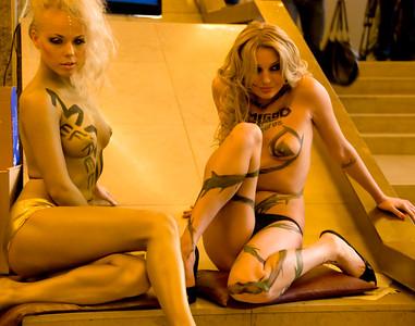 Demigod and Mass Effect booth-babes