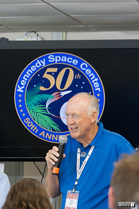 Hugh Harris Hugh Harris during #NASASocial #NASAKennedy http://smu.gs/QivjSu  he said he stayed at NASA as it is most important work in civilization