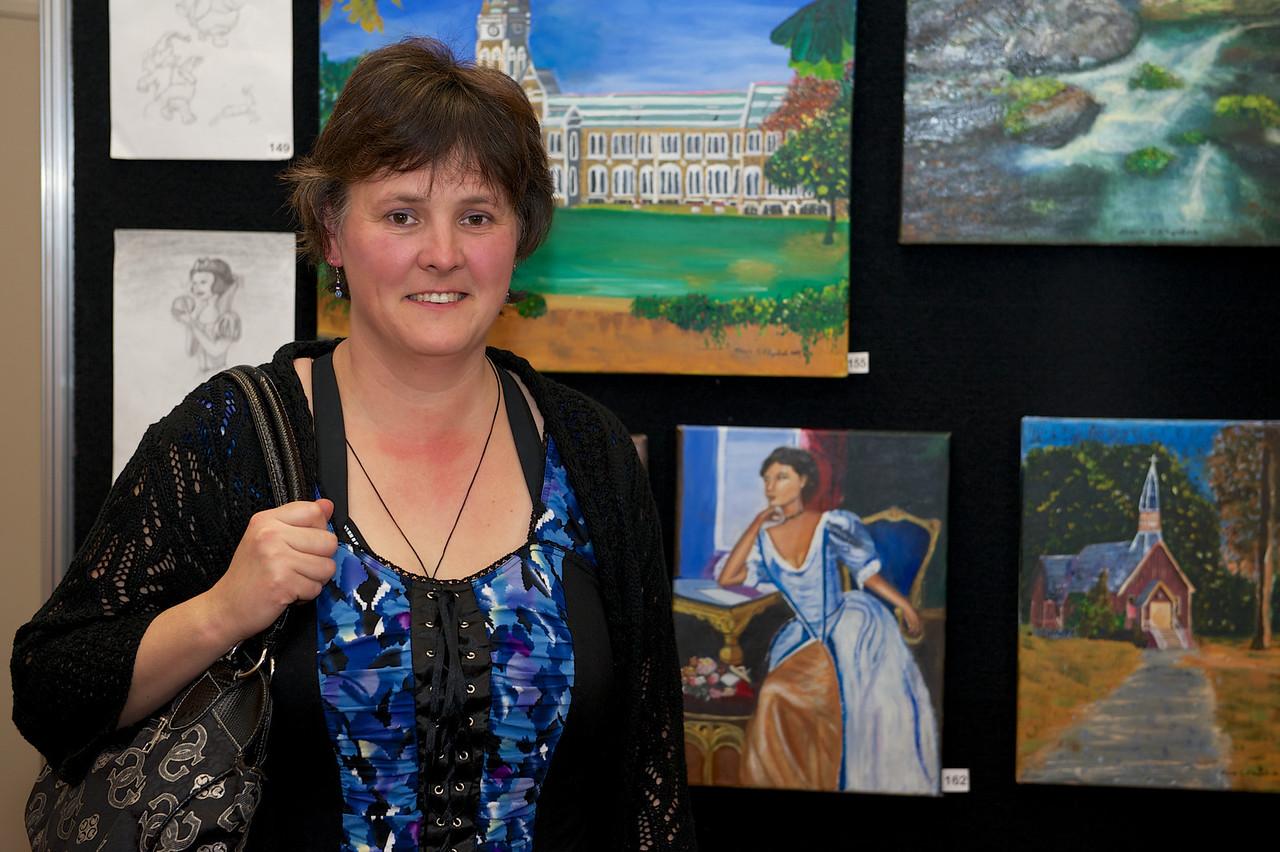 Maria Fitzpatrick<br /> KaiapoiArtExpo_2012-07-20_18-50-04__DSC3356_©RichardLaing(2012)