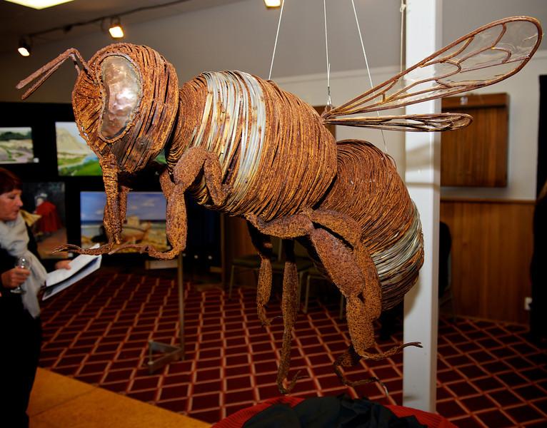 Bumble Bee,  Artist Mark Larsen<br /> KaiapoiArtExpo_2012-07-20_18-55-01__DSC3362_©RichardLaing(2012)