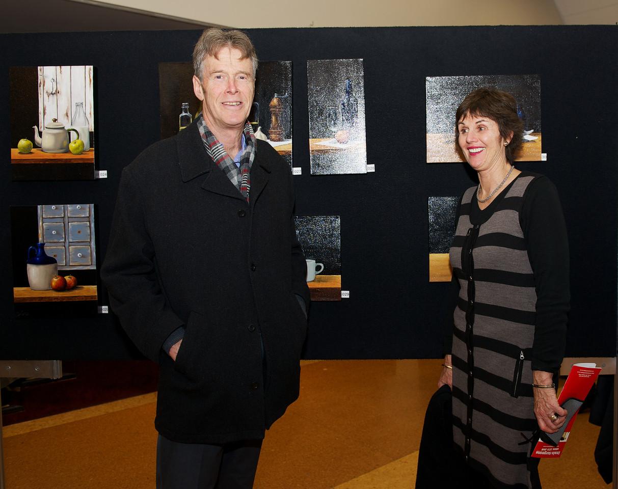 Peter & Mary Fenwick<br /> KaiapoiArtExpo_2012-07-20_18-54-01__DSC3361_©RichardLaing(2012)