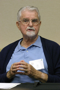 During a chaplaincy workshop addressing the protocol for ministering to death row inmates, Jim Powers, stresses the importance of listening to inmates. Powers leads an organization called Thresholds of Georgia, a mentoring program for inmates on good decision making.