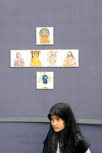 Children's corner at the parking area of Kala Ghoda. The Kala Ghoda Arts Festival held for nine days annually in February at Kala Ghoda, Mumbai. This year it was held from 7th February to 15th February 2009.