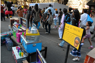 """""""Made in 'Chai'na"""" was quite innovative. The Kala Ghoda Arts Festival held for nine days annually in February at Kala Ghoda, Mumbai. This year it was held from 7th February to 15th February 2009."""