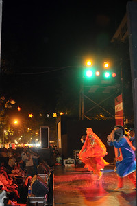 The Kala Ghoda Arts Festival held for nine days annually in February at Kala Ghoda, Mumbai. This year it was held from 7th February to 15th February 2009.