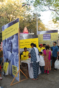 Quite tobacco movement. Salsaam Bombay.  Assorted items on display and sale at the Kala Ghoda Arts Festival held for nine days annually in February at Kala Ghoda, Mumbai. This year it was held from 7th February to 15th February 2009.