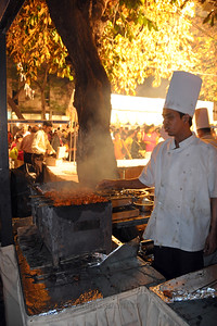 Lots of food at the Kala Ghoda Arts Festival held for nine days annually in February at Kala Ghoda, Mumbai. This year it was held from 7th February to 15th February 2009.