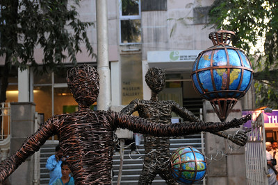 Art at the Kala Ghoda Arts Festival held for nine days annually in February at Kala Ghoda, Mumbai. This year it was held from 7th February to 15th February 2009.
