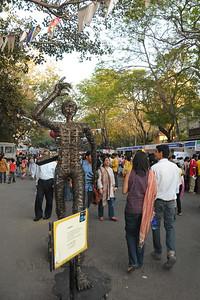 The Kala Ghoda Arts Festival held for nine days annually in February at Kala Ghoda, Mumbai. This year it was held from 7th February to 15th February 2009.