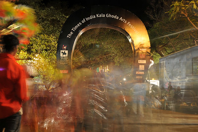 The Times of India Kala Ghoda Arts Festival 2008 held annually in February at Kala Ghoda, Mumbai, MH, India.