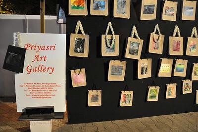 Priyasri Art Gallery at Kala Ghoda Arts Festival 2008 held annually in February at Kala Ghoda, Mumbai, MH, India.