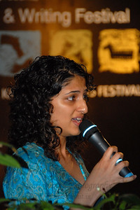 Literature & writing event at the Kala Ghoda Arts Festival, Feb 2007