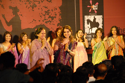 Fashion show event at the Kala Ghoda Arts Festival, Feb 2007