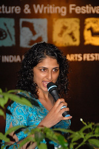 Literature & writing event at the Kala Ghoda Arts Festival, Feb 2007