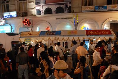 Over doze of food Kala Ghoda Arts Festival, Feb 2007
