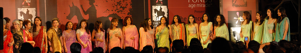 Fashion show at the Kala Ghoda Arts Festival, Feb 2007