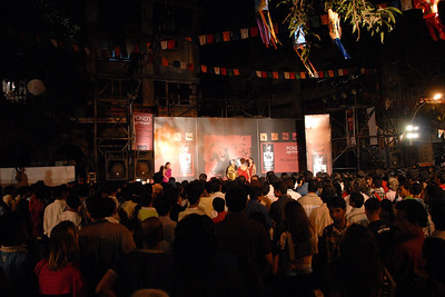 Dance performance at Kala Ghoda Arts Festival, Feb 2007
