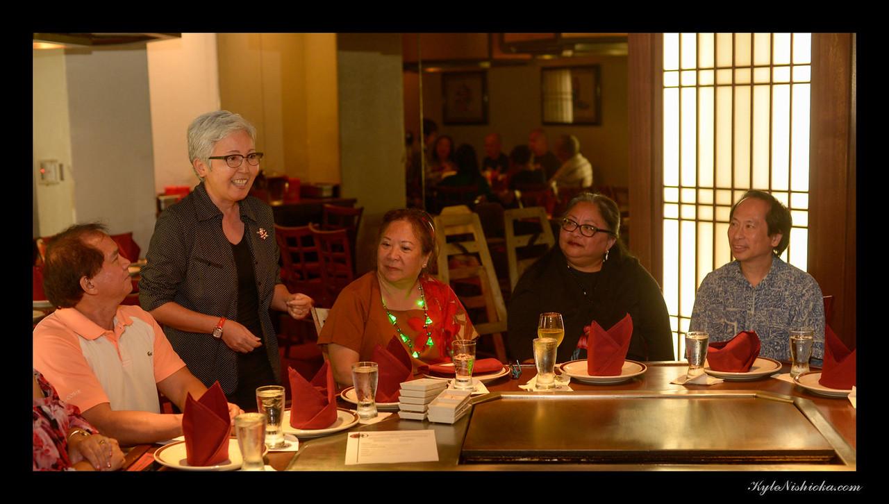 Kamehameha Toastmasters Holiday Dinner 2016