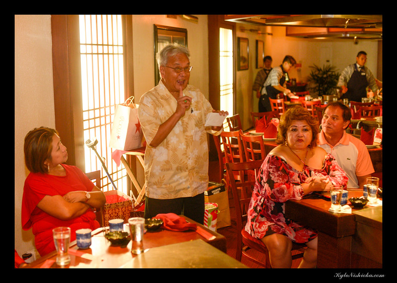Kamehameha Toastmasters Holiday Dinner 2016