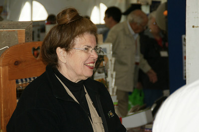 Gloria Moore at Washington County / Barnes booth