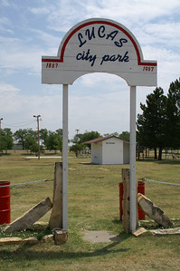 Entrance to Lucas City Park