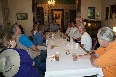 Kansas Explorers Club meeting in Clark-Robidoux House