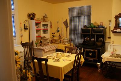 Kitchen in Clark-Robidoux House