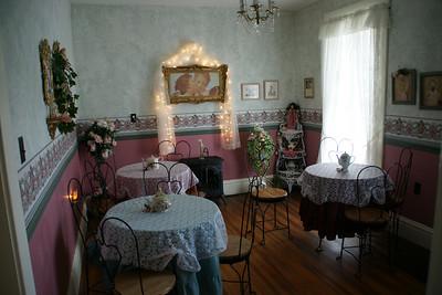 Tea Room in Clark-Robidoux House
