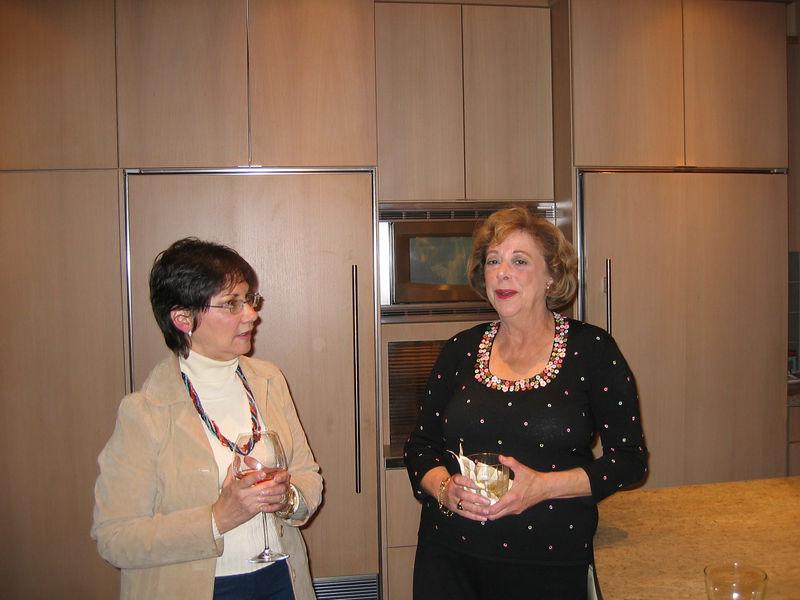 Judy Lusky, Carole Feld