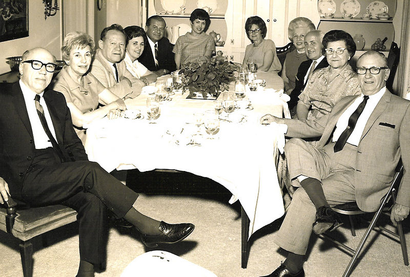 Ben, Fanny, Max, Lilly, A.J., Diane, Frances, ?, ?, Julia, Morris