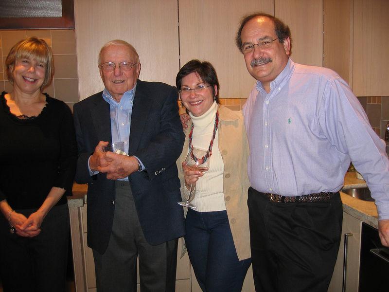 Jeanie, Lou, Judy & Mal Lusky