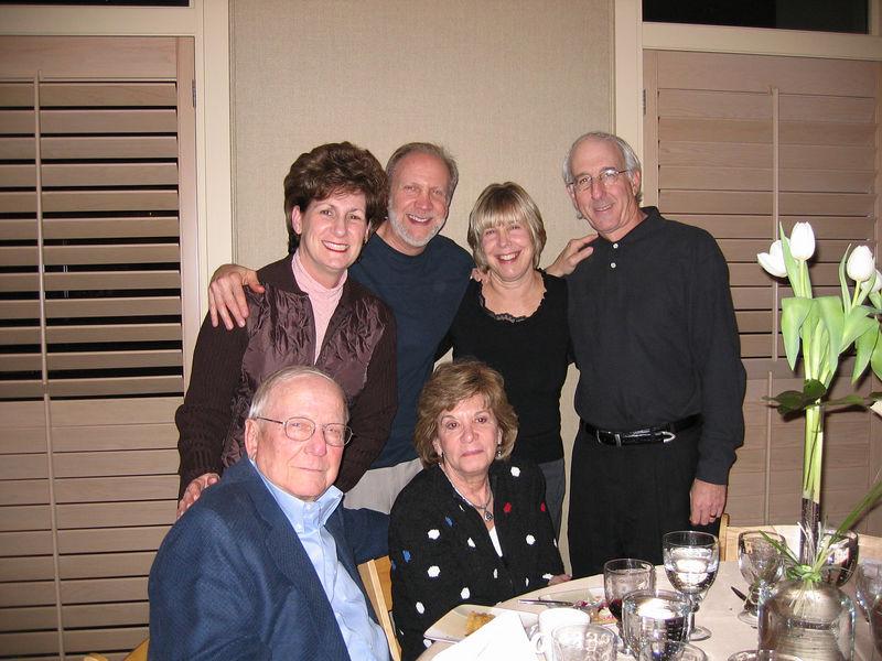 The Marks Clan<br /> Lou & Paula Marks, Gary & Kathy Marks, Jeanie & Joey Stoller