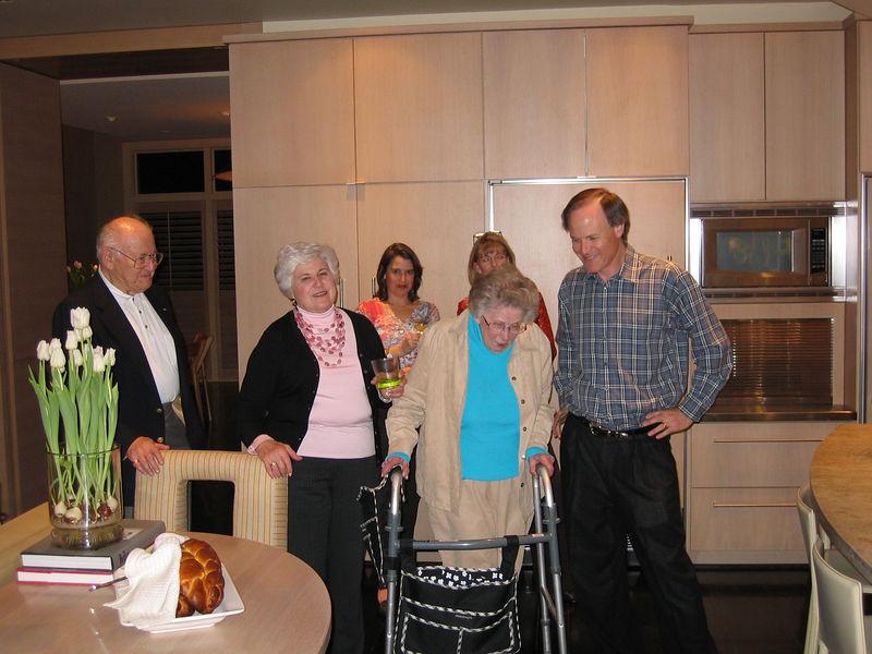 Charles, Celine, Nanette, Frances, Lee