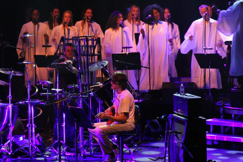 Spiritualized perform 'Ladies & Gentlemen We are Floating in Space', Royal Festival Hall - Jason Pierce & choir