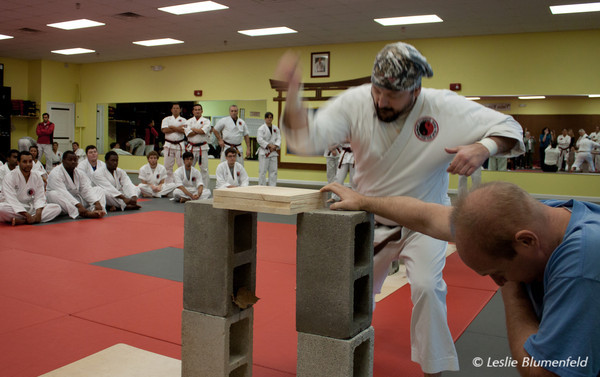 Karate testing at Mandarin Martial Arts