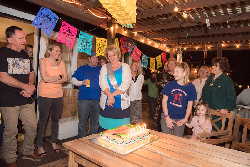 Kathy's Surprise Birthday Party