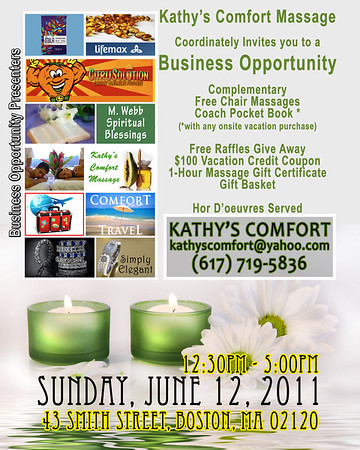 Kathy's Comfort Presents Business Opportunity