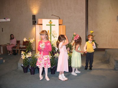 Katie's Easter Choir