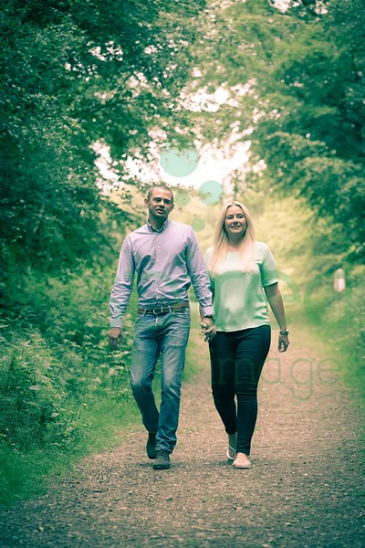 Katy & Matt - Engagement Shoot, Toys Hill