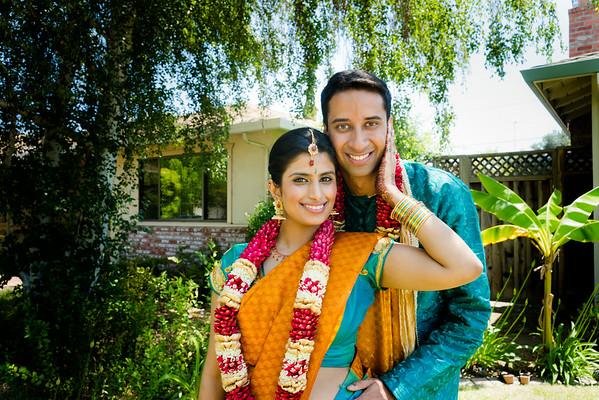 Kavitha + Rahul Engagement Ceremony