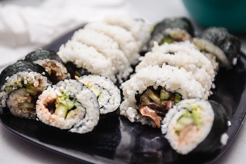 Kayaking-Sushi Day