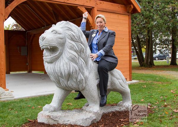 Keene Lions Club Lion Statue